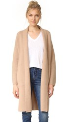 Madewell Shawl Collar Cardigan Heather Saddle
