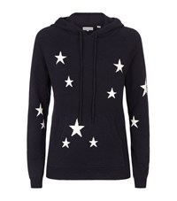 Chinti And Parker All Over Star Cashmere Hoodie Female