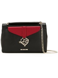 Love Moschino Chain Strap Shoulder Bag Black