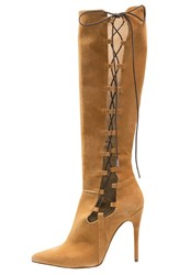 Mai Piu Senza High Heeled Boots Cookie Cognac