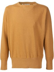 Levi's Vintage Clothing Crew Neck Sweatshirt Yellow And Orange