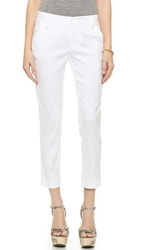 Alice Olivia Stacey Slim Pants White