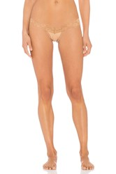 Les Coquines Zoe Thong Brown