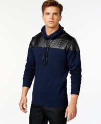 Guess Roy Quilted Chevron Hoodie