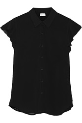 Ag Jeans Crepe Top Black