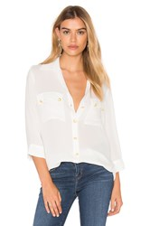 L'agence Pauline Button Up White