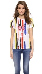Creatures Of The Wind Texana Tee With Butterfly