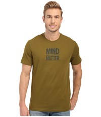 Prana Mind Matter Saguaro Men's Short Sleeve Pullover Brown