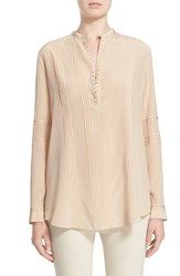 Women's Belstaff 'Dana' Studded Silk Blouse