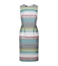 Escada Deide Striped Sleeveless Dress Female Green