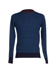 Rare Ra Re Knitwear Jumpers Men Slate Blue