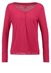 Tom Tailor Long Sleeved Top Red Bud