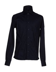 Fabio Di Nicola Shirts Dark Blue