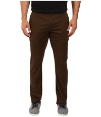 Volcom Frickin Modern Stretch Chino Dark Chocolate Men's Casual Pants Brown