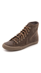 Seavees 08 61 Army Issue Leather Sneaker High