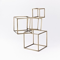 Cubed Sculpture West Elm