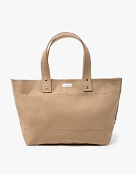 Nanamica Medium Tote Bag Beige
