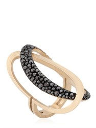 Antonini Black And White Ring