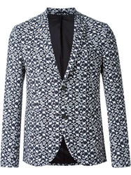 Neil Barrett 'Pop Art Star' Blazer White