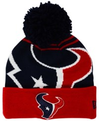 New Era Houston Texans Whiz Pom Knit Hat