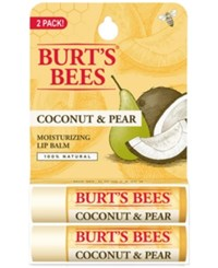 Burt's Bees Lip Balm Coconut And Pear Blister Box 2 Pack