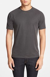 Men's Vince Camuto Raglan Sleeve T Shirt Charcoal