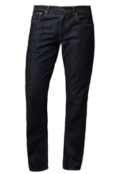 Gant Tyler Connecticut Straight Leg Jeans Dark Blue Broken