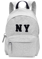 Joshua Sanders Ny Grey Jersey Backpack