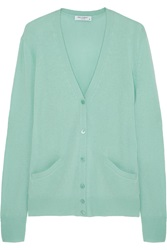 Equipment Sullivan Cashmere Cardigan Green