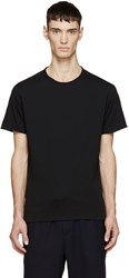 Rag And Bone Black And Green Reversible Sport T Shirt