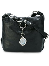 Lanvin Medium 'Marguerite' Hobo Bag Black