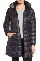 Bernardo Women's Down And Primaloft Coat Dark Indigo Moonrock