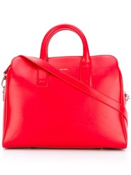 Paul Smith Top Handle Tote Red