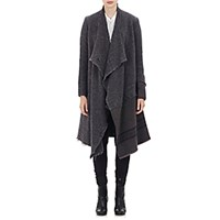 Greg Lauren Women's Nomad Sweater Jacket Dark Grey