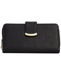 Giani Bernini Leather Metallic Bar All In One Wallet