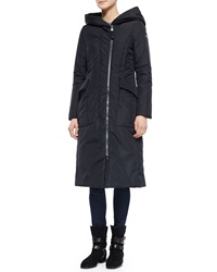 Post Card Acrab Long Hooded Canvas Coat
