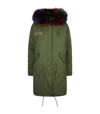 Jane And Tash Darling Absolutely Fabulous Long Parka Female Multi