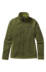 Patagonia Women's 'Better Sweater' Jacket Supply Green