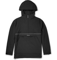 Stussy Tuy Lim Fit Hell Half Zip Hooded Jacket Black