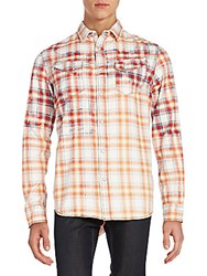Cult Of Individuality Clint Plaid Sportshirt Repl