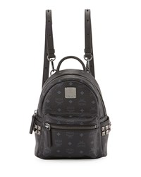 Stark Side Stud Backpack X Mini Black Mcm