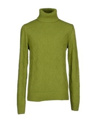 Ballantyne Turtlenecks Green