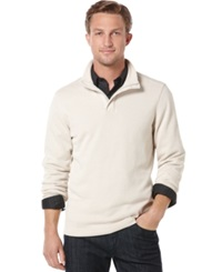 Perry Ellis Zip Neck Sweater