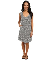 Kavu Simone Dress Black Mosaic Women's Dress