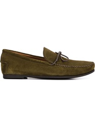 Tomas Maier Classic Moccasins Green