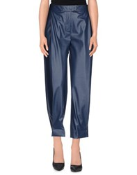 Normaluisa Trousers Casual Trousers Women Slate Blue