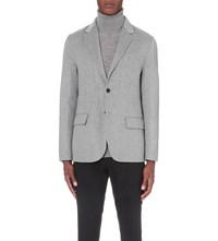 Joseph Surrey Wool And Cashmere Blend Jacket Marble