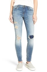 Women's Bp. Distressed High Rise Skinny Jeans