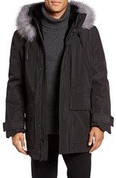 Andrew Marc New York Men's Everest Genuine Fur Trim Parka