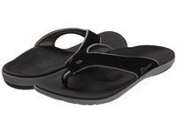 Spenco Yumi Carbon Pewter Men's Sandals Black
